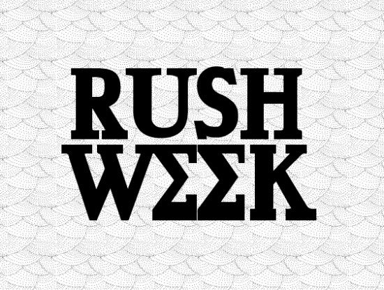 rush week  perspective of a past rushee