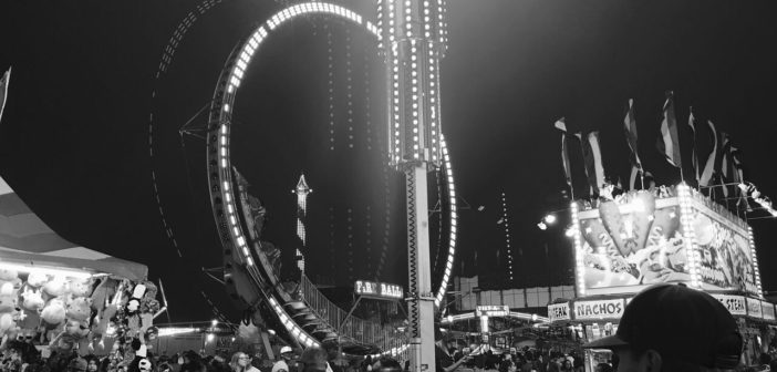 Frosty visits the fair