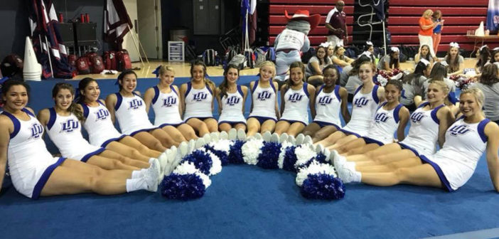 Cheer Team Adding Excitement to LCU Sports